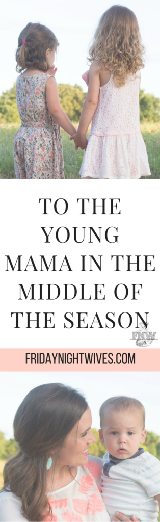 You love this season. But you also feel like your life is put on hold until it's over because you're too busy being everything for everyone. You need help. You need reinforcements. You need friendship and companionship and just to feel less alone. Oh, mama. You're not alone. You. Are. Not. A. Lone.