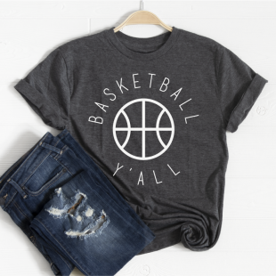 basketball tshirt mom wife