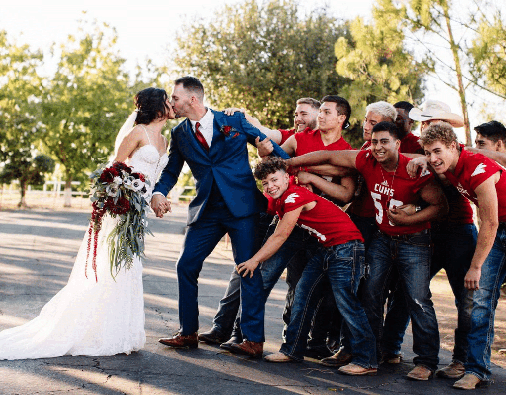 i married my coach during football season and it was wonderful